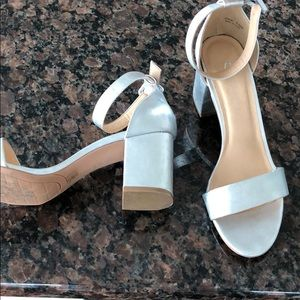 CL by Laundry - Silver block heels
